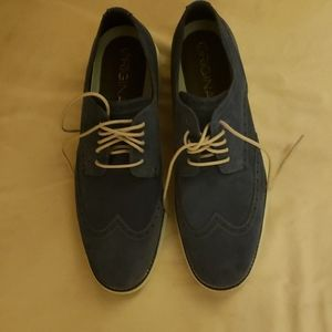 Brand new COLE HAAN swade blue leather